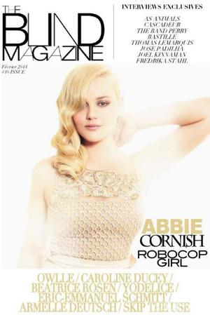 Abbie Cornish - The Blind Magazine Cover - February 2014