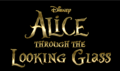 Alice Through the Looking Glass Logo - alice-in-wonderland-2010 photo