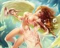 Angel - fantasy wallpaper