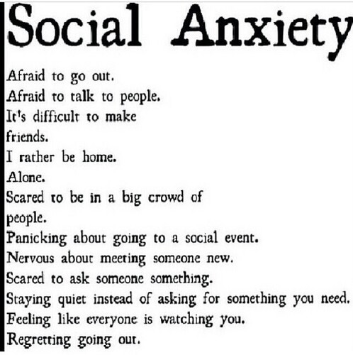 Social Anxiety 바탕화면 entitled Anxiety.
