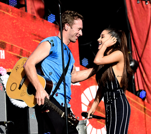 Ariana Grande x 酷玩乐队 - Global Citizens Festival 2015
