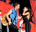 Ariana Grande x Coldplay - Global Citizens Festival 2015 - coldplay photo