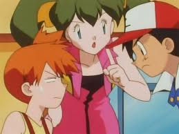 Ash, Misty mad