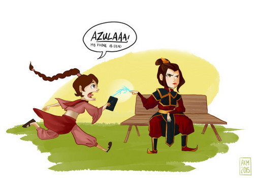 Avatar: The Last Airbender achtergrond possibly with anime entitled Azula and TyLee
