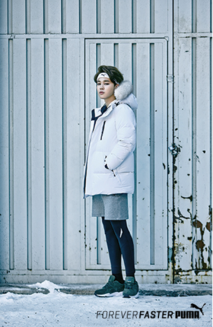 防弾少年団 X PUMA WINTER COLLECTION