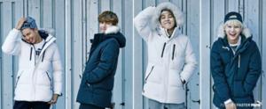 BTS X PUMA WINTER COLLECTION