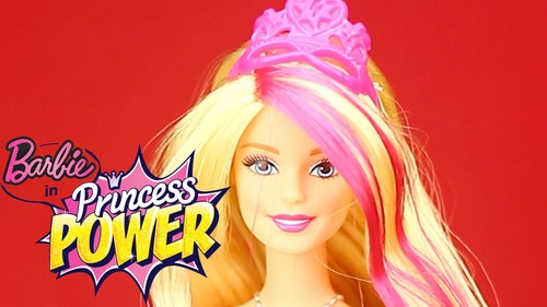 Barbie films achtergrond probably with a portrait titled Barbie In Princess Power