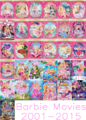 Barbie films 2001-2015