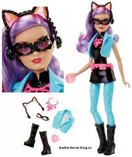 filmes de barbie wallpaper called Barbie: Spy Squad - Cat Burglar Doll