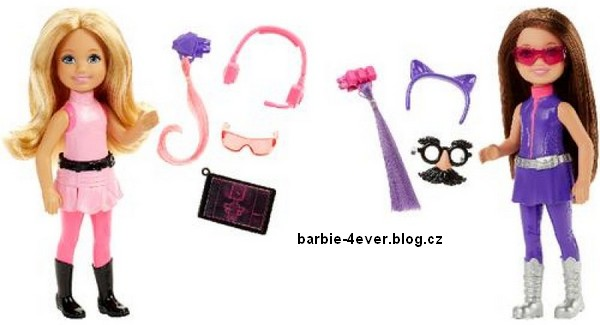 Barbie: Spy Squad - Chelsea Agents Dolls