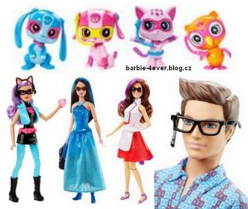 Sinema za Barbie karatasi la kupamba ukuta probably containing a bridesmaid and a chajio, chakula cha jioni dress titled Barbie Spy Squad