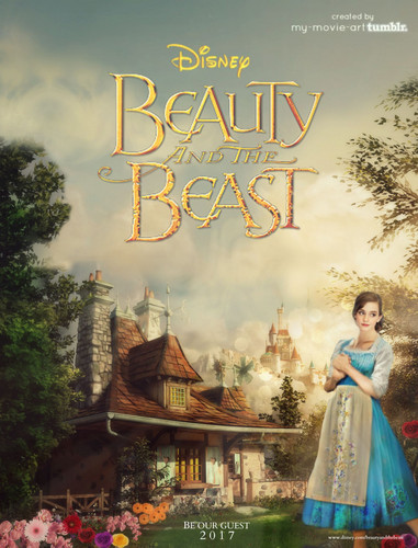 Beauty and the Beast (2017) karatasi la kupamba ukuta titled Beauty and the Beast