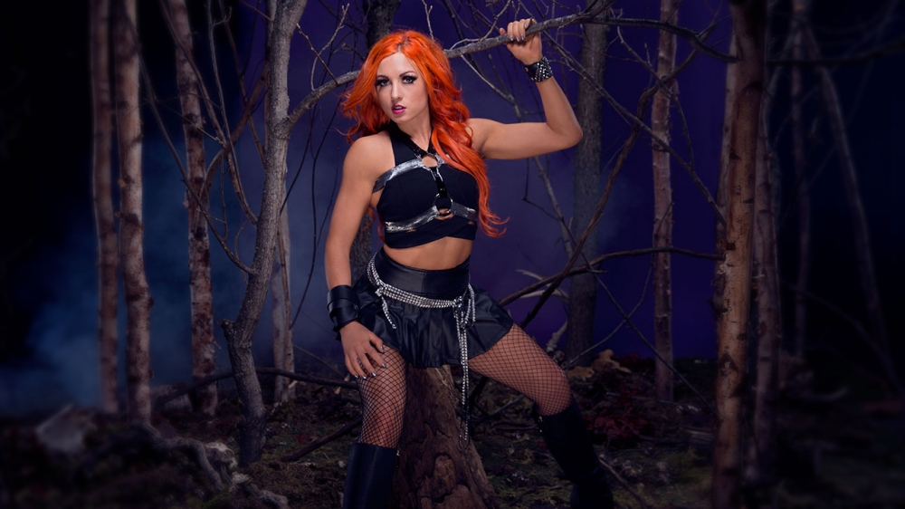 Becky Lynch Honors the Deadman
