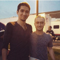 "Behind The Set , Upcoming Film ""Imperium"" (Fb.com/DanielJacobRadcliffeFanClub) - daniel-radcliffe photo"