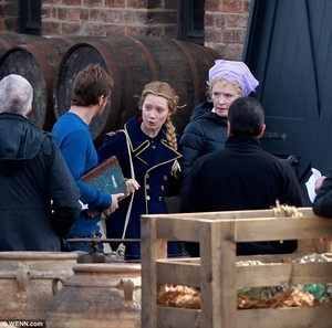 Behind the scenes of Alice Through the Looking Glass