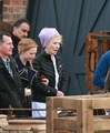 Behind the scenes of Alice Through the Looking Glass - alice-in-wonderland-2010 photo