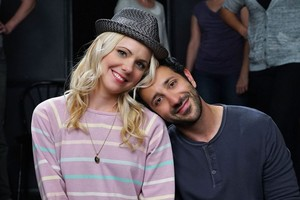 Behind-the-scenes with Desmin and Collette