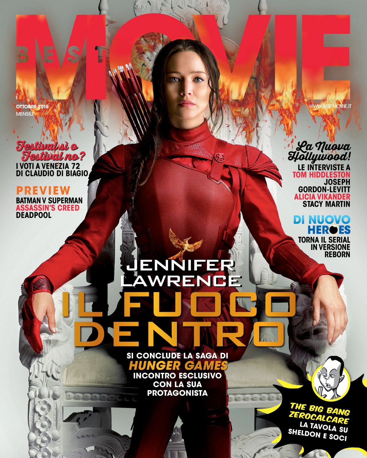 the hunger games movie cover