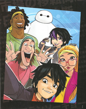 Big Hero 6 Heroic Poster Book