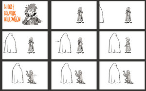 Big Hero 6 - Hiro and Baymax Halloween Storyboards