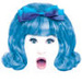 Blue hair shock - hairspray icon