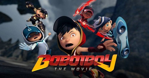 Boboiboy achtergrond probably containing anime called BoBoiBoy The Movie achtergrond