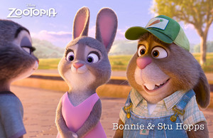 Bonnie and Stu Hopps - Zootopia