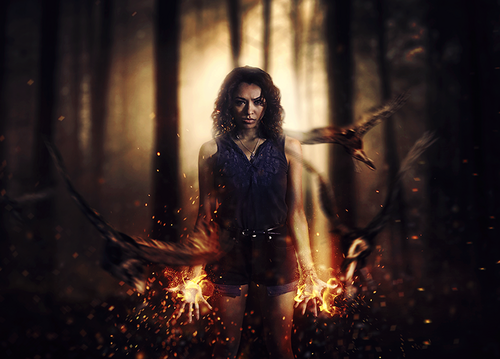The Vampire Diaries TV Show Images Bonnie HD Wallpaper And