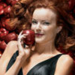 Bree in the apples - desperate-housewives icon