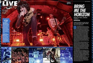 Bring Me The Horizon সঙ্গীতানুষ্ঠান Review at Kerrang Magazine