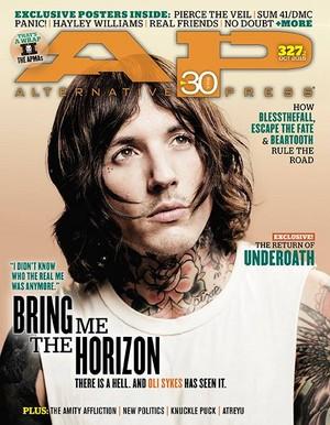 Bring Me The Horizon Cover at AP Magazine