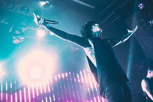 Bring Me The Horizon's concierto at LA's El Rey Theatre