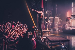 Bring Me The Horizon's संगीत कार्यक्रम at LA's El Rey Theatre