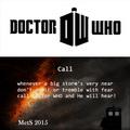 Call - doctor-who fan art