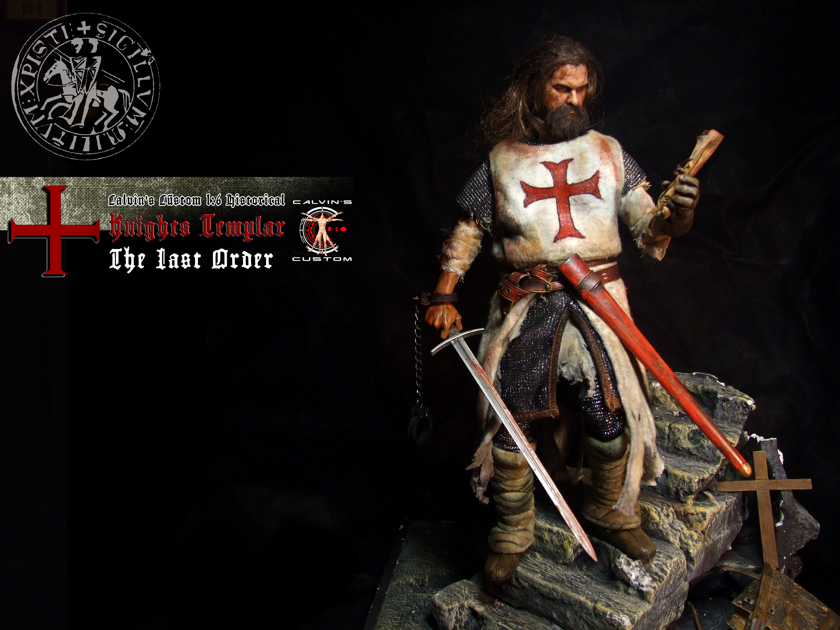 Calvin S Custom 1 6 One Sixth Scale Historical Figure Knights