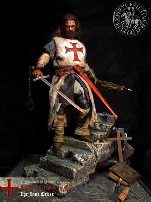 "Calvin's Custom 1:6 one sixth scale Historical Figure: ""Knights Templar The Last Order"" custom figur"