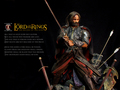 Calvin's Custom 1:6 one sixth scale custom The Lord of the Rings Aragorn as King of Gondor in the fi - lord-of-the-rings photo