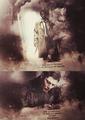Castiel and Dean  - supernatural fan art