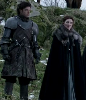 Catelyn Stark and Robb Stark