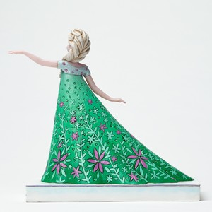 Celebration of Spring frozen Fever Elsa Figurine