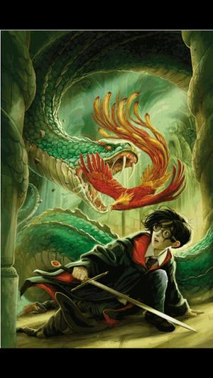 Chamber of Secrets illustration