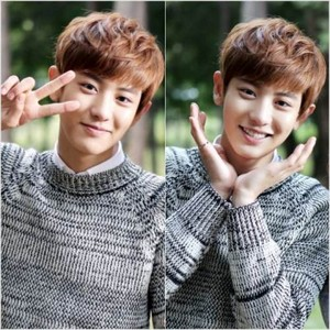 Chanyeol aegyo