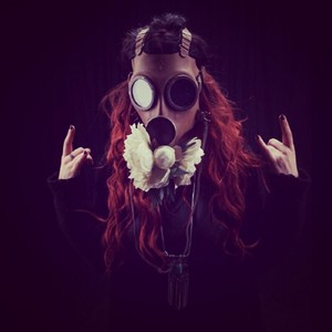 charlotte Wessels picture from her new band Phantasma
