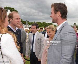 Chris meeting Prince William