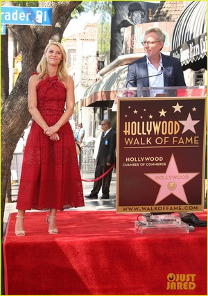 Claire Danes Receives Star on Hollywood Walk of Fame!