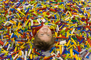 Covered in Legos!