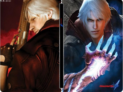 Devil may cry 4 dmc4 cover hd and background devil may cry 4 possibly with a green called dmc4 cover voltagebd Images