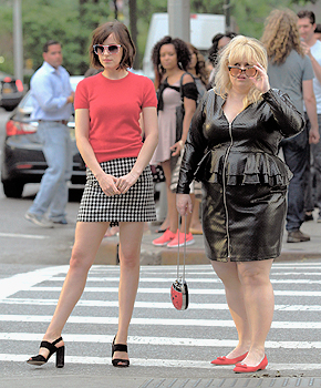 Dakota and Rebel Wilson