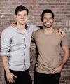 Daniel and Tyler - daniel-sharman fan art