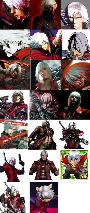 Dante All Appearances